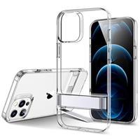 ESR Metalen Standaard iPhone 12/12 Pro Hoesje - Doorzichtig