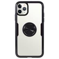iPhone 11 Pro Hybrid Case met Ring Houder - Zwart