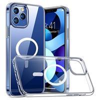 Saii Magnetische Serie iPhone 12/12 Pro Hybrid Hoesje - Doorzichtig