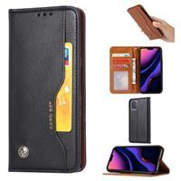 Card Set Series iPhone 11 Pro Max Wallet Case - Zwart