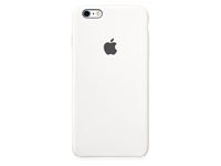 Apple iPhone 6(S) Siliconen Case - Wit A-grade