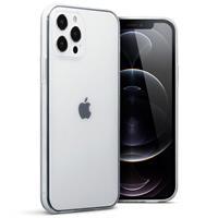 Qubits Softcase hoes - iPhone 12 / iPhone 12 Pro - Transparant