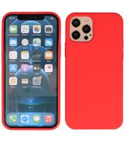 Lunso Softcase hoes - iPhone 12 / iPhone 12 Pro - Rood