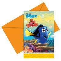 Disney Uitnodigingskaartjes Finding Dory