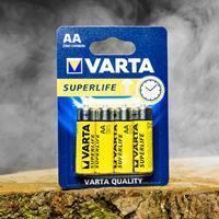 Varta Batterijen - Superlife AAA (4 stuks)