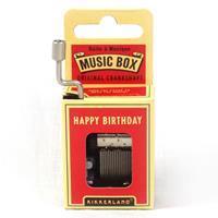 Kikkerland Muziekdoosje - Happy Birthday