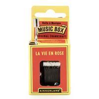 Kikkerland Muziekdoosje - La Vie En Rose