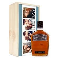 Whisky in bedrukte kist - Gentleman Jack Bourbon