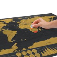 Scratch Map Wereldkaart Deluxe