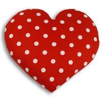 Warming Pillow Heart Polkadot - Big