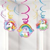 Unicorn swirl deco