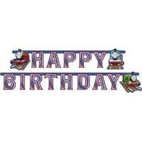 Letterslingers Thomas de Trein Happy Birthday