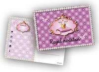 Uitnodigingskaartjes Prinses