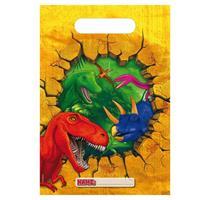 Dinosaurus Uitdeelzakjes - 6 stuks
