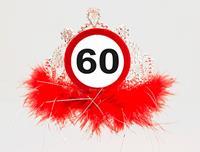 60 jaar Verkeersbord Tiara