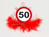 50 Jaar Verkeersbord Tiara