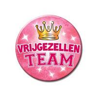 Bellatio XXL roze vrijgezellen team button