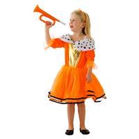 Oranje Koninginnen jurk voor meisjes