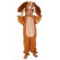 Bellatio Pluche honden kostuum kinderen Bruin