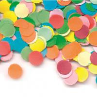 Gekleurde confetti 100 gram Multi