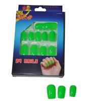 Funny Fashion Groene neon nepnagels