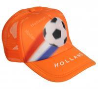 Oranje cap Holland met voetbal