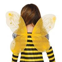 Bellatio Gele vlinder vleugels voor kinderen