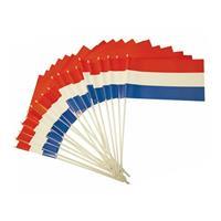 Bellatio Plastic zwaaivlaggetje Holland