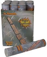 Confetti shooter 30 cm zilver 1x