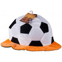 Pluche voetbal hoed Holland
