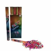 Bellatio Confetti kanon kleuren 60 cm