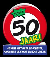 Paperdreams Wenskaarten - 50 jaar verkeersbord