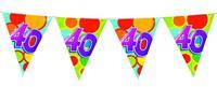 Vlaggenlijn leeftijd jaar 10 meter