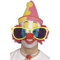 Smiffys Grote clowns bril