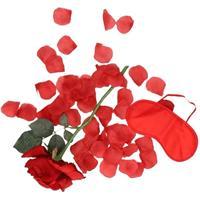 Valentijnscadeau verassingspakket rood masker Rood