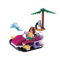 Sluban Bouwstenen Girls Dream Serie Hovercraft -