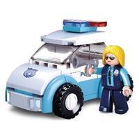 Sluban Bouwstenen Girls Dream Serie Politievrouw met Politiewagen -