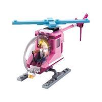 Sluban Bouwstenen Girls Dream Serie Beach Helicopter -