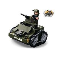 Sluban Bouwstenen Army Gepantserde Wagen -