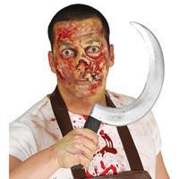 Halloween - Plastic sikkel 44 cm Multi