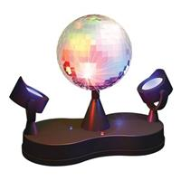 Party FunLights Party Lampe mit Discokugel