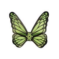 Vlinder verkleed vleugels groen volwassenen Groen