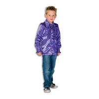 Coppens Ruche Blouse Paars