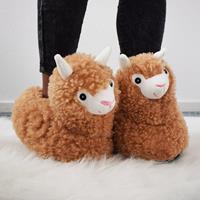 Mikamax Alpaca Pantoffels - voor Volwassenen