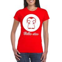 Shoppartners Rood Salvador Dali t-shirt voor dames