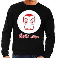 Shoppartners Zwarte Salvador Dali sweater voor heren