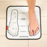 Reflexologie voetmassage mat