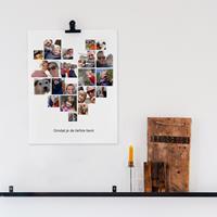 YourSurprise 'Mama en ik' foto collage poster - 30 x cm