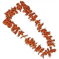Oranje voetbal hawaii krans/slinger Oranje