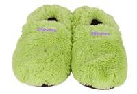 Warmies Magnetronpantoffel Flushy Groen